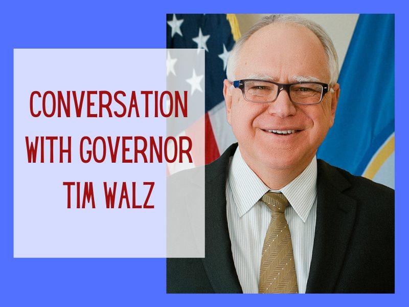 Cgmc Conversation With Gov. Tim Walz